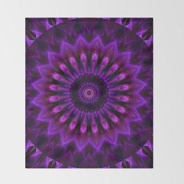 Mandala Crownchakra Throw Blanket