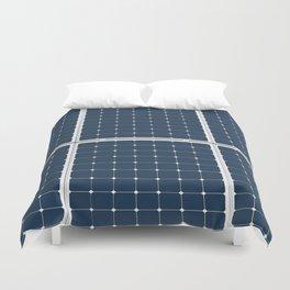 Solar Cell Panel Duvet Cover