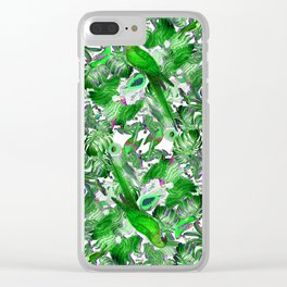 Tropic Of Capricorn - Green Clear iPhone Case