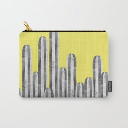 Cacti and yellow Carry-All Pouch