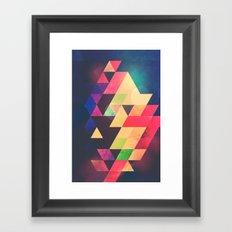 yyty dyyd Framed Art Print