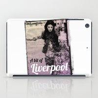 liverpool iPad Cases featuring LIVERPOOL by TOO MANY GRAPHIX