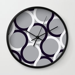 Linked Two Wall Clock