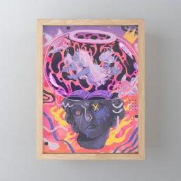 Telling Stories Telling Lies Framed Mini Art Print