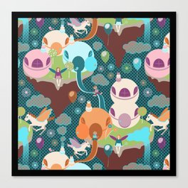 Fantasy Islands Canvas Print