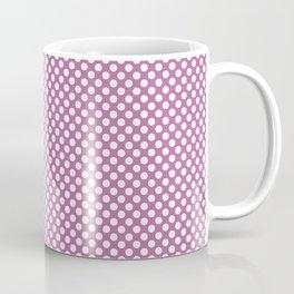 Spring Crocus and White Polka Dots Coffee Mug