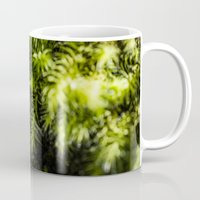 moss Mugs featuring Moss by Michelle McConnell