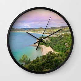 Colorful Palette Wall Clock