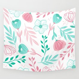 Tini Flowers Wall Tapestry