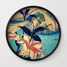 Deep Stare Honen Wall Clock
