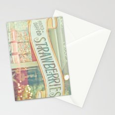 Hand-Dipped Strawberries Stationery Cards