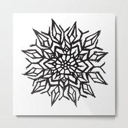 Cosmic Flower Metal Print