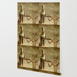 Horus and Pharaoh Wallpaper