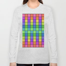 Pastel Chex Long Sleeve T-shirt
