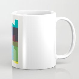 Shapes of Vancouver. Accurate to scale. Coffee Mug