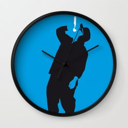 No079 MY NWA Minimal Music poster Wall Clock