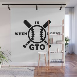 When in Doubt - Get the Out Wall Mural
