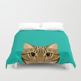 Tabby Cat Duvet Cover