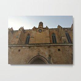Historic Spanish Church Metal Print