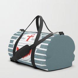 A Smooth Sea Never Made a Skilled Sailor Duffle Bag