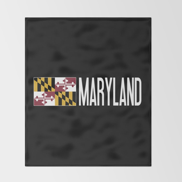 Maryland: Marylander Flag & Maryland Throw Blanket