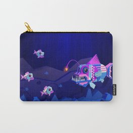 Anglerfish, lie and bioluminescence Carry-All Pouch