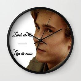 SKAM - Isak Valtersen - livet er nå Wall Clock