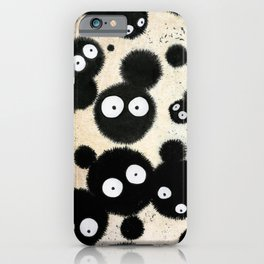Cute Susuwatari Infestation iPhone Case