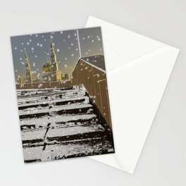Way to Mosque  Stationery Cards