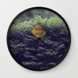 Street Sign Wall Clock