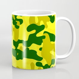 Camouflage (Yellow) Coffee Mug