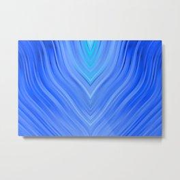 stripes wave pattern 3 c80 Metal Print