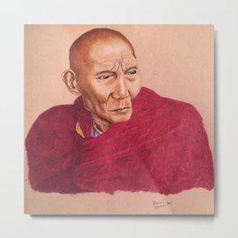 Buddhist Monk Metal Print