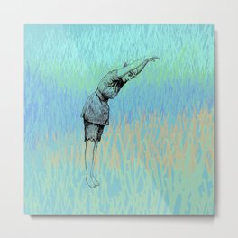 Swimmer ~ The Summer Series Metal Print