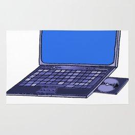 Laptop  Rug