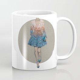 Elie Saab Long Dress - Fashion Illustration  Coffee Mug