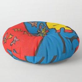 SKIN DEEP  (ORIGINAL SOLD)  #Society6  #decor  #buyart Floor Pillow