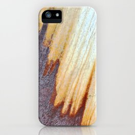 Rain Rusted Roof iPhone Case