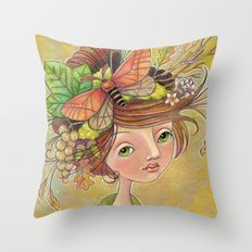 Forest Glories Throw Pillow