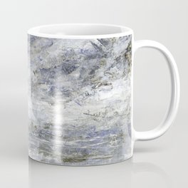 Abstract Seascape in Grey and Blue Coffee Mug