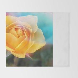 Rose Daydream Throw Blanket