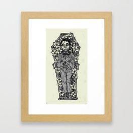 Le Mort Vivant Framed Art Print