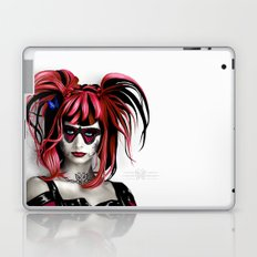 A Real Butterfly Girl Laptop & iPad Skin