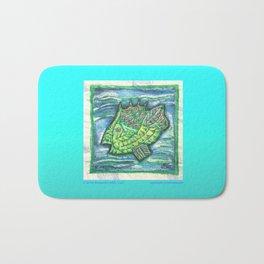 Counter Fish Bath Mat