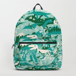 Dino world | blue Backpack