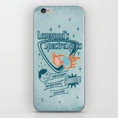 SpectreSpecs iPhone & iPod Skin