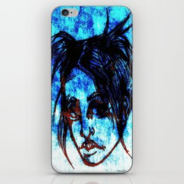 Leering iPhone Skin