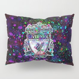 Watercolor Liverpool Pillow Sham