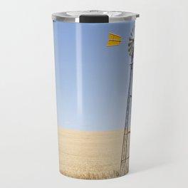 Australian Wheat-field Rural Landscape Travel Mug