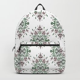 Wild plant pattern 3 Backpack
